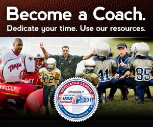 Coaching midget football